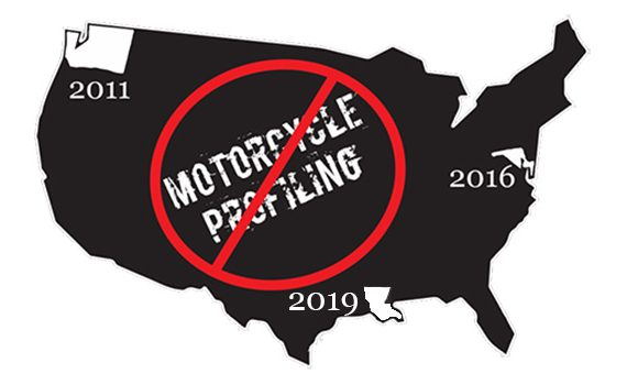 Louisiana Unanimously Passes Anti-Motorcycle Profiling Law