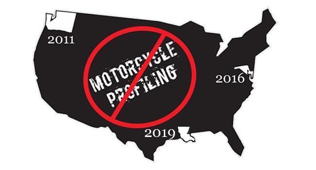 Louisiana Unanimously Passes Anti-Motorcycle Profiling Law