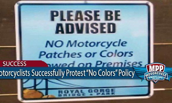 Big Win – MC's Stop 'No Motorcycle Colors' Policy in Colorado