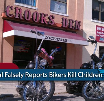 Daytona Beach News Journal Falsely Reports Bikers Kill Children