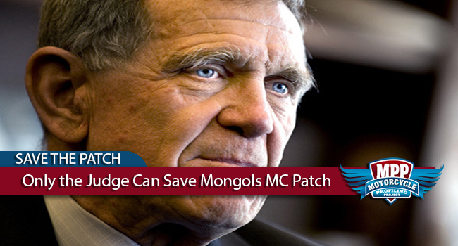 Only the Judge Can Save Mongols MC Patch