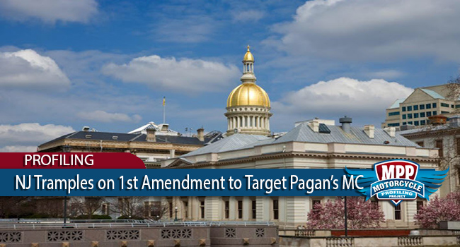 New Jersey Tramples on 1st Amendment To Target Pagan's MC