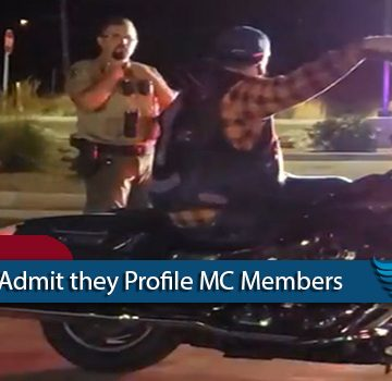 Utah Police Admit They Profile MC Members